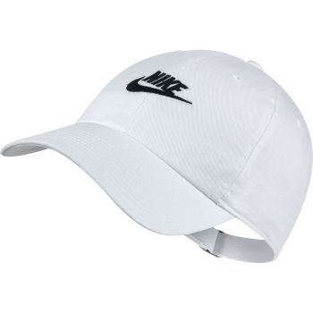 Nike U NSW H86 CAP FUTURA WASHED, muška kapa, bijela