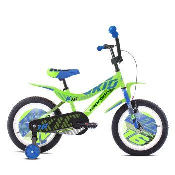 Capriolo KID 16, dječji bicikl, zelena