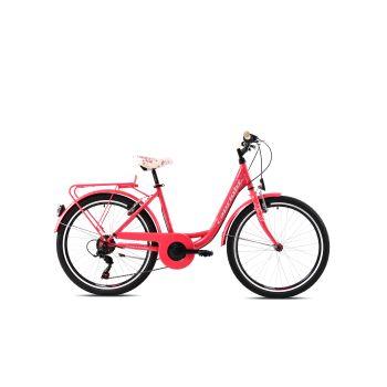 Capriolo ELLA, dječji cestovni bicikl, roza