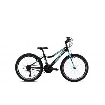 Capriolo DIAVOLO DX 24, dječji bicikl, crna