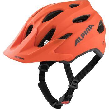 Alpina CARAPAX JR, dječja biciklistička kaciga, narančasta