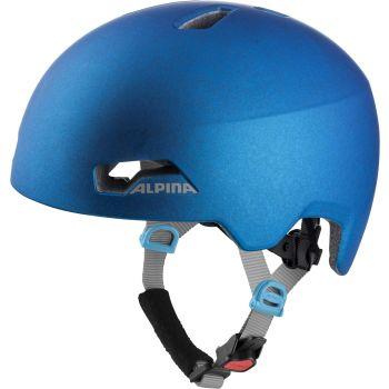 Alpina HACKNEY, dječja biciklistička kaciga, plava