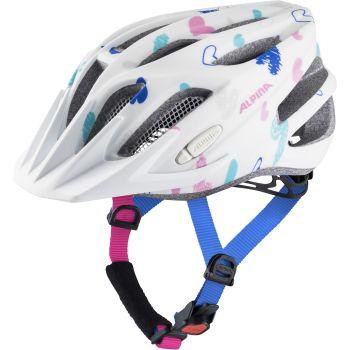 Alpina FB JR 2.0 LE, dječja biciklistička kaciga, bijela