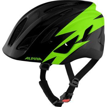 Alpina PICO, dječja biciklistička kaciga, crna