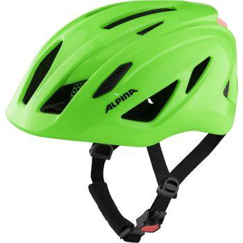 Alpina PICO FLASH, dječja biciklistička kaciga, zelena