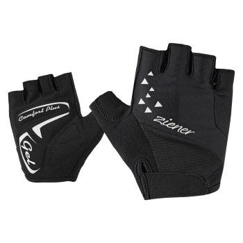 Ziener CACI, ženske rukavice za bicikl, crna