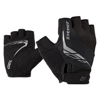 Ziener CENIZ, muške rukavice za bicikl, crna