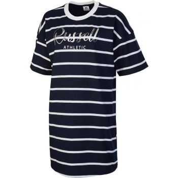 Russell Athletic SL TEESHIRT STRIPED DRESS, odjeća, plava