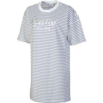 Russell Athletic SL TEESHIRT STRIPED DRESS, odjeća, bijela