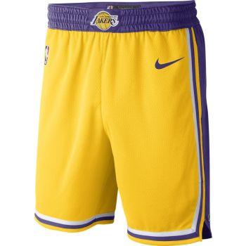 Nike LOS ANGELES LAKERS ICON EDITION NBA SWINGMAN SHORTS, muške hlače, bijela