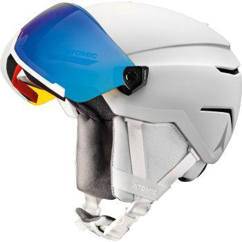 Atomic SAVOR VISOR STEREO, skijaška kaciga, bijela