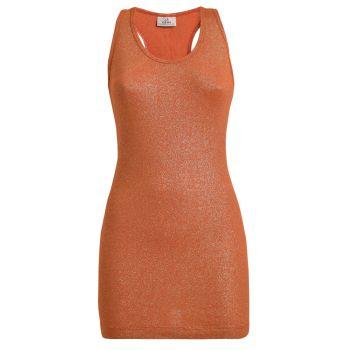Deha CANOTTA LUREX, ženska majica, narančasta