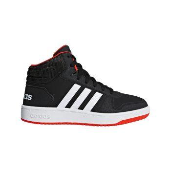adidas HOOPS MID 2.0 K, dječje tenisice za slobodno vrijeme, crna