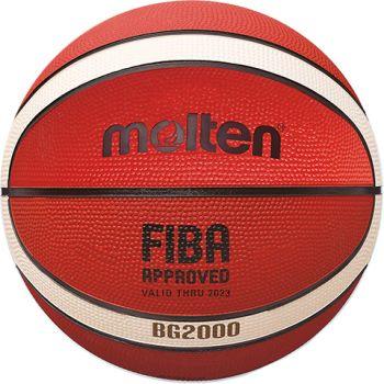Molten B7G2000, košarkaška lopta, narančasta