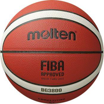 Molten B7G3800, košarkaška lopta, narančasta