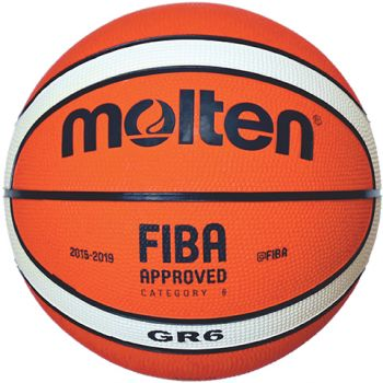 Molten BGR6-OI, košarkaška lopta, narančasta