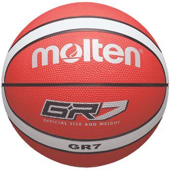 Molten BGR7-RW, košarkaška lopta, crvena