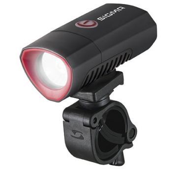 Sigma BUSTER 300 USB FRONT POWERLIGHT, svjetlo za bicikl, crna