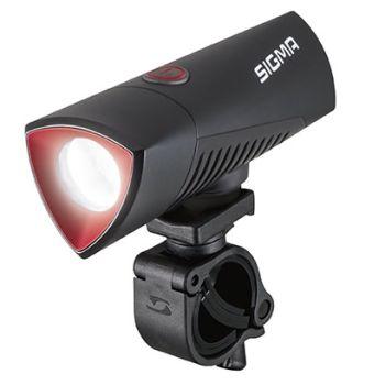 Sigma BUSTER 700 USB FRONT POWERLIGHT, svjetlo za bicikl, crna