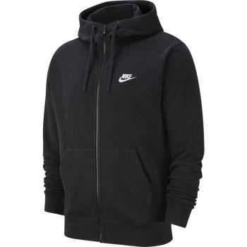 Nike SPORTSWEAR CLUB FULL-ZIP HOODIE, muška jakna, crna