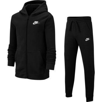 Nike B NSW TRK SUIT CORE BF, dječja trenirka, crna