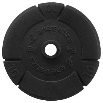 Energetics CAST IRON DISC PCE 30 MM, disk uteg iron, crna
