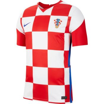 Nike CRO M NK BRT STAD JSY SS HM, muški nogometni dres, crvena