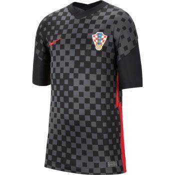 Nike CRO Y NK BRT STAD JSY SS AW, dječji nogometni dres, crna