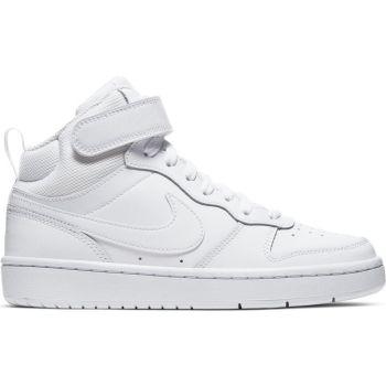 Nike COURT BOROUGH MID 2 GS, dječje tenisice za slobodno vrijeme, bijela