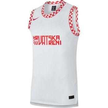 Nike CRO M BBALL TOP SL, muška majica, bijela