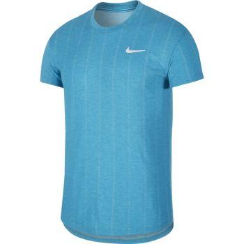 Nike M NKCT CHLLNGR TOP SS, muška majica za tenis, plava