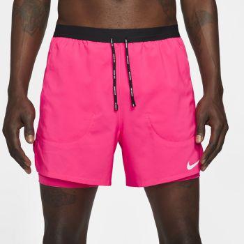"""Nike FLEX STRIDE 5"""" 2-IN-1 RUNNING SHORTS, muške kratke hlače za trčanje, roza"""
