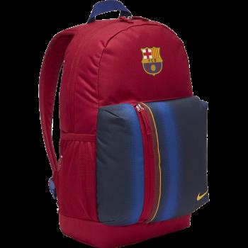 Nike FC BARCELONA STADIUM SOCCER BACKPACK, nogometni ruksak, crvena