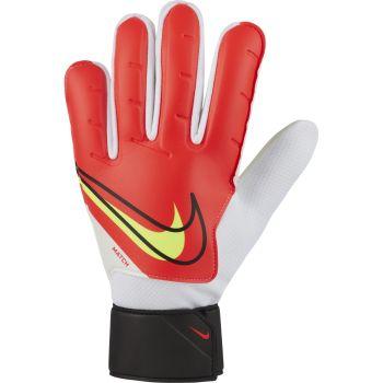 Nike GK MATCH, muške nogometne rukavice, crvena