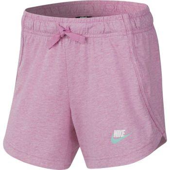 Nike G NSW SHORT JERSEY, dječje kratke hlače, roza