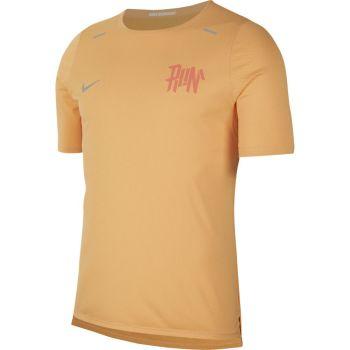 Nike M NK DF BRTH RISE 365 WR TOP, muška majica za trčanje, narančasta