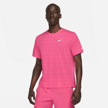 Nike DRI-FIT MILER RUNNING TOP, muška majica za trčanje, roza