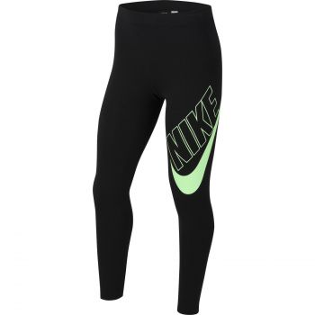 Nike SPORTSWEAR FAVORITES GRAPHIC LEGGINGS, dječje tajice, crna