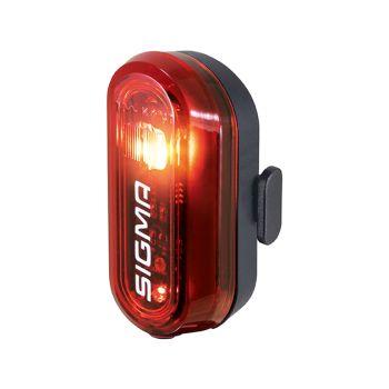 Sigma CURVE REAR LIGHT, svjetlo za bicikl, crna
