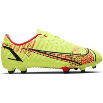Nike JR VAPOR 14 ACADEMY FG/MG, dječje kopačke za nogomet, žuta