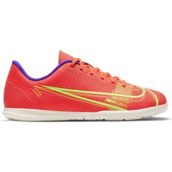 Nike JR VAPOR 14 CLUB IC, dječje tenisice za nogomet, crvena