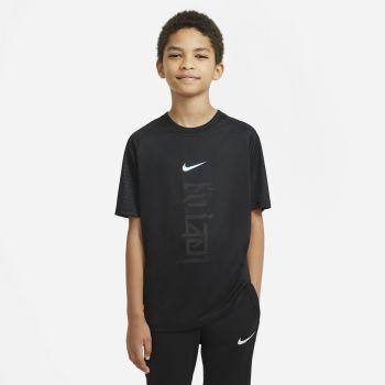 Nike DRI-FIT KYLIAN MBAPPE, dječja majica za nogomet, crna