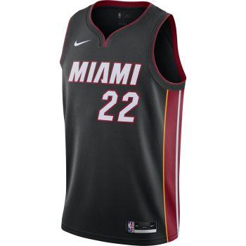 Nike HEAT ICON EDITION 2020 NBA SWINGMAN JERSEY, muška majica, crna