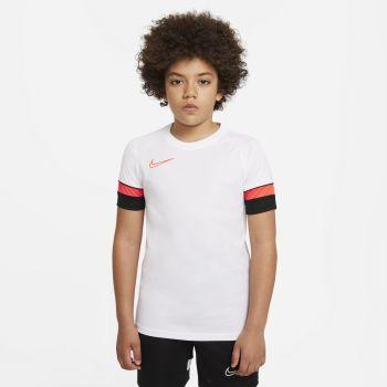 Nike DRI-FIT ACADEMY SHORT-SLEEVE SOCCER TOP, dječji nogometni dres, bijela