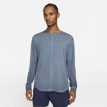 Nike YOGA LONG-SLEEVE TOP, majica, plava