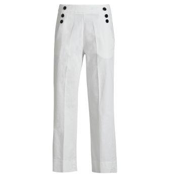 Deha PANTS, ženske hlače, bijela