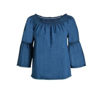 Deha BLUSA ML, ženska majica, plava