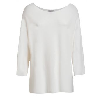 Deha MAGLIA GIROCOLLO, ženska majica, bijela