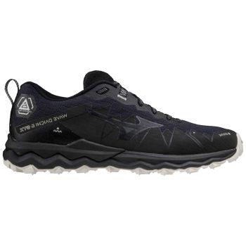 Mizuno WAVE DAICHI 6 GTX, muške tenisice za trail trčanje, crna