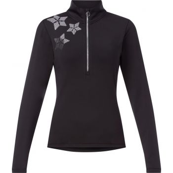 McKinley DARIANA WMS, ženski skijaški flis, crna